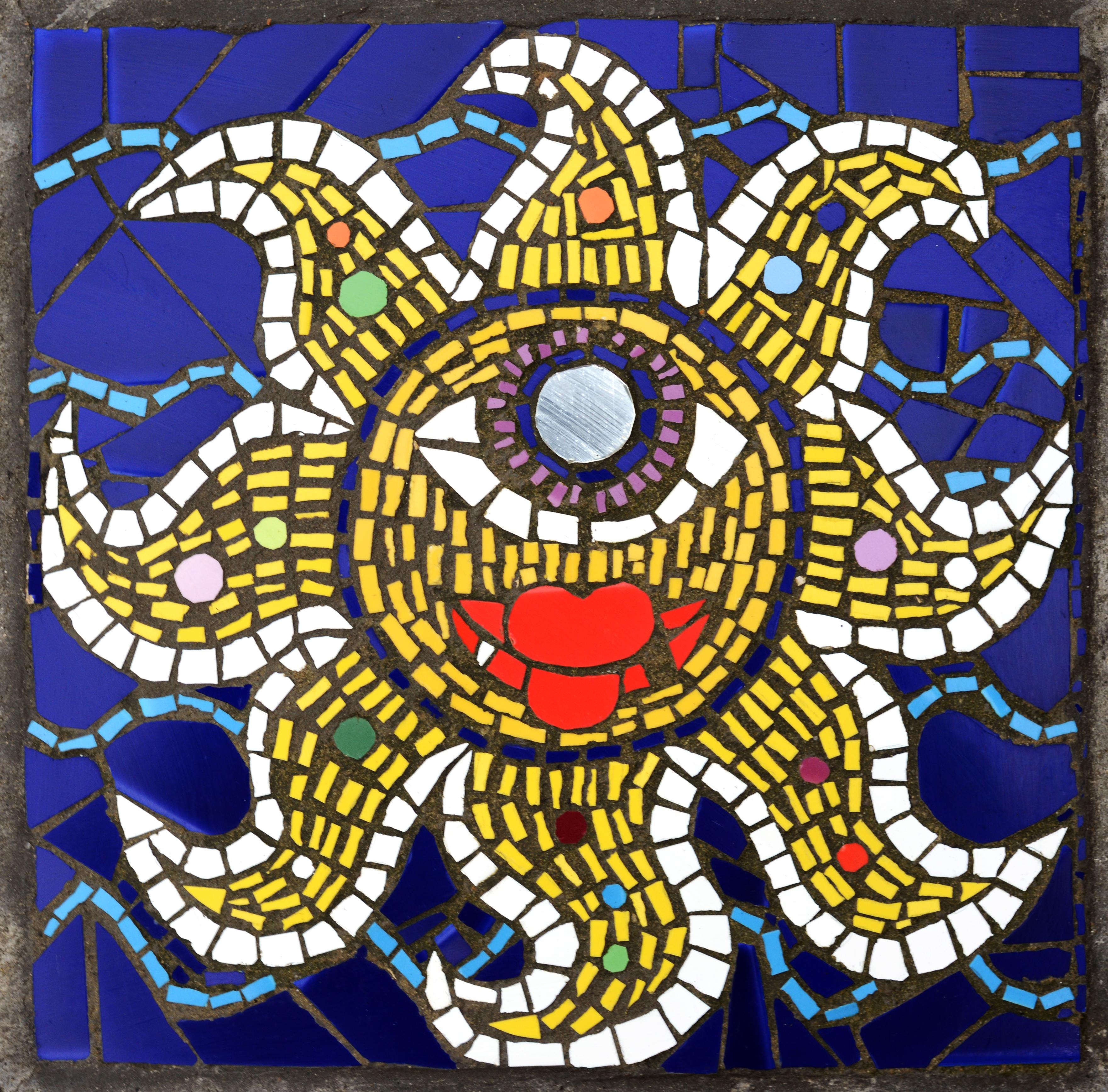 Mosaïque étoile