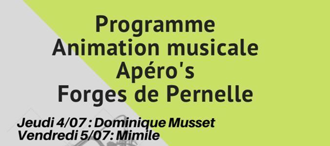 Apéro's Forges de Pernelle