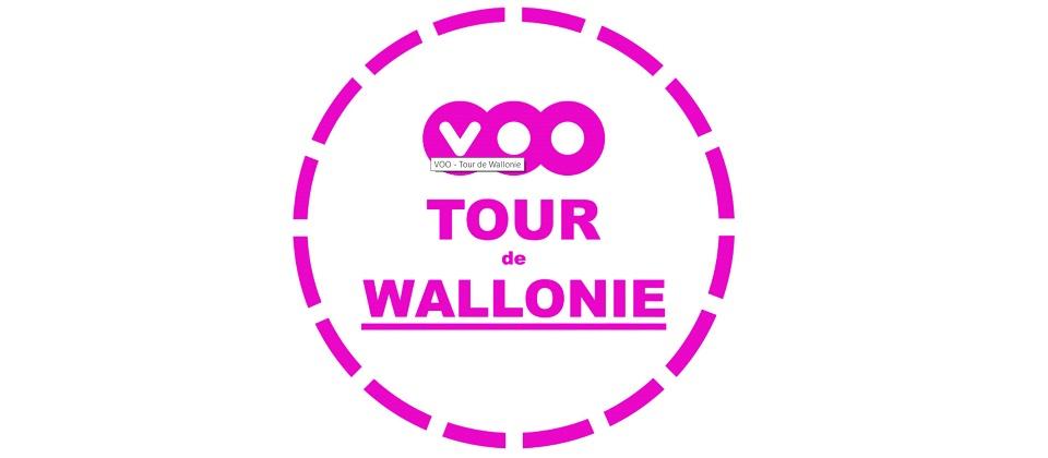 Départ d'une étape du VOO-TOUR de Wallonie