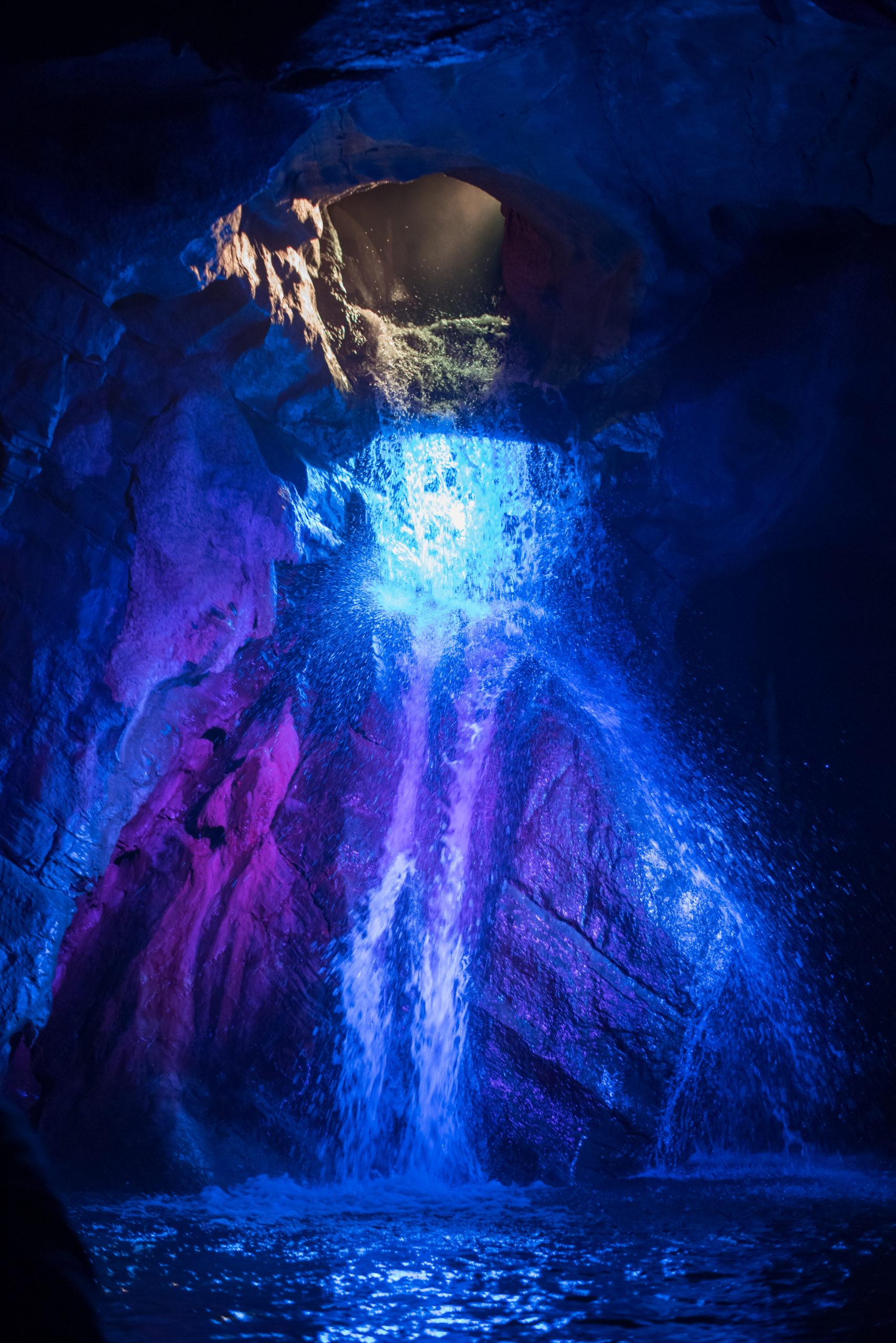 grottes de Neptune - son & lumière