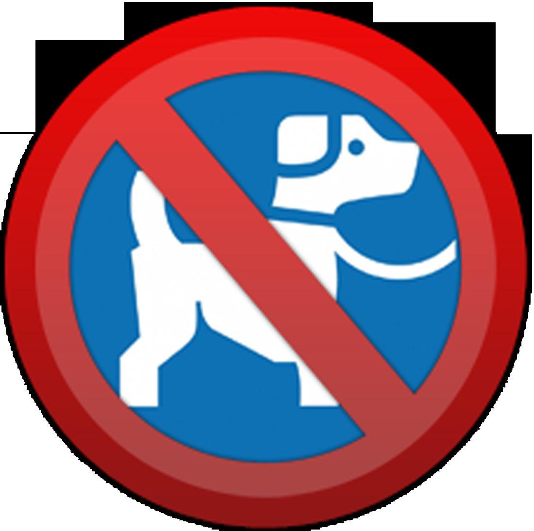 picto chien interdit