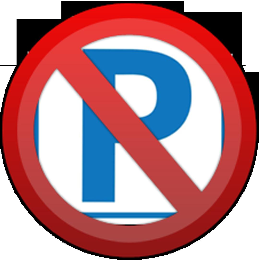 picto pas parking